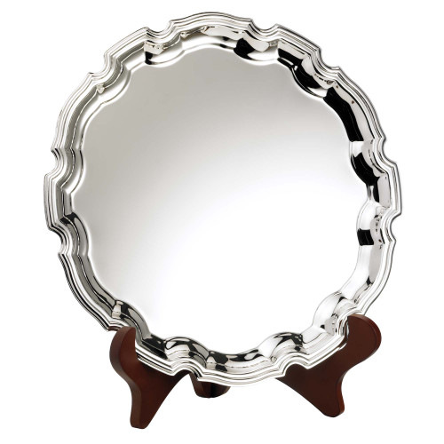 H085 Nickel Plated Salver Tray at 1stPlace4Trophies