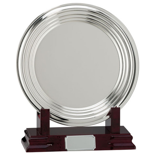 Inverurie Nickel Plated Salver Tray at 1stPlace4Trophies