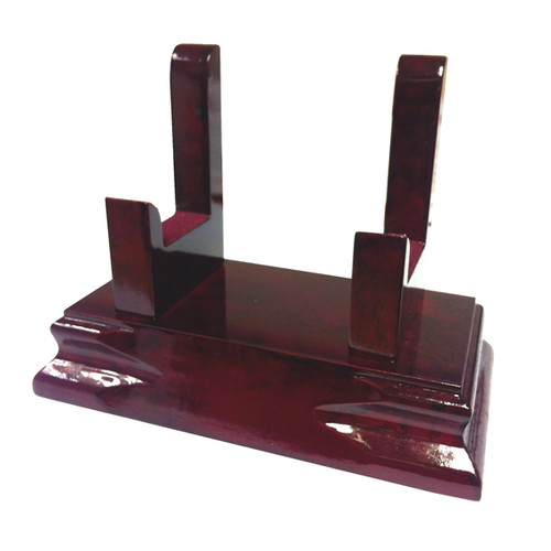 LUXOR Wooden Tray Stand