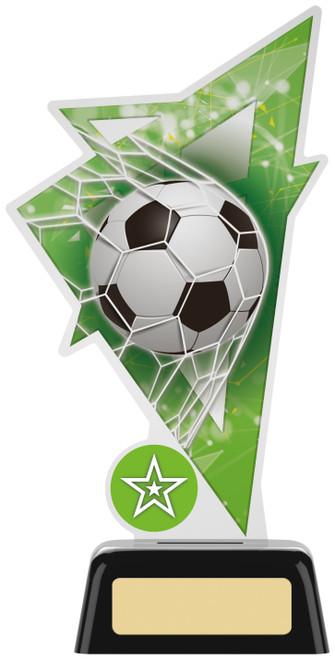 Premium acrylic football award with FREE engraving