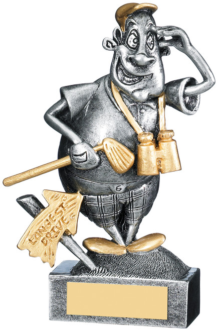 Have a Go Henry Novelty golf character award with FREE engraving