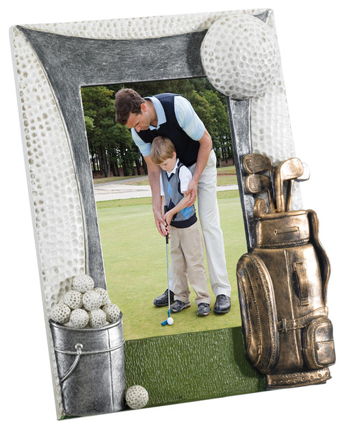 "Golf 6""x 4"" photo frame gift"