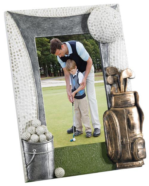 "Golf 6""x 4"" photo frame gift"