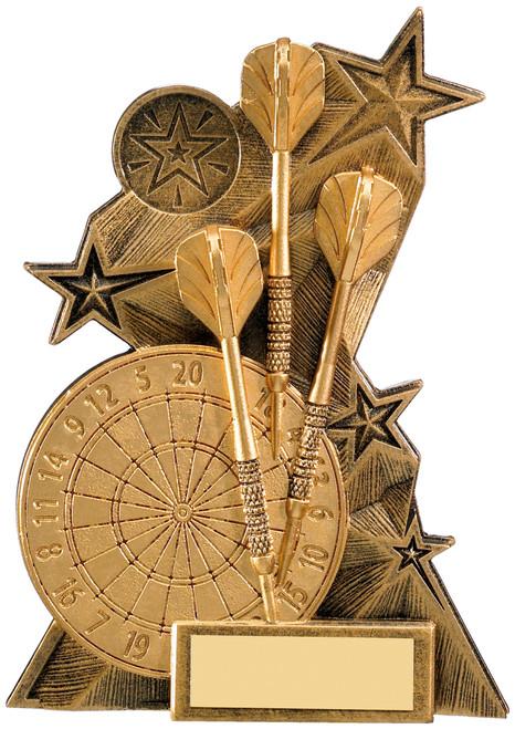 Astra dartboard & darts award in 3 sizes FREE engraving