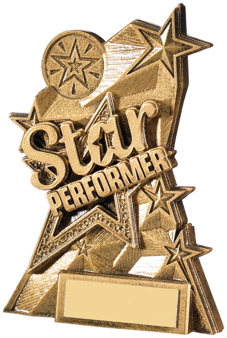 Star Performer Dance Drama Acting Award with FREE engraving
