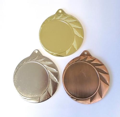 100 x 70mm multisport/activity medals + ribbon + logo + uk p&p -£250 !!!