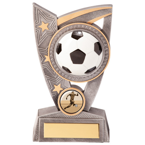 Triumph Football Trophy in 2 sizes with FREE engraving