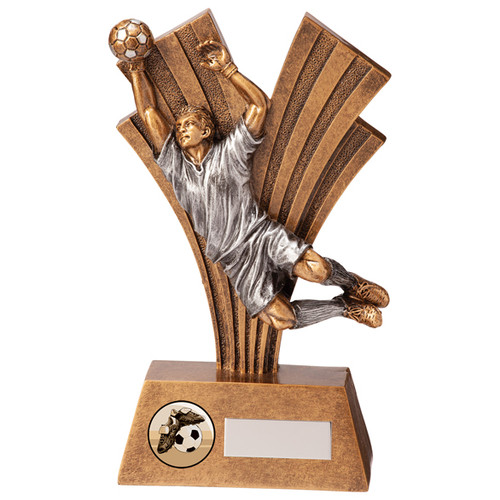 Xplode Football Goalkeeper award with FREE engraving