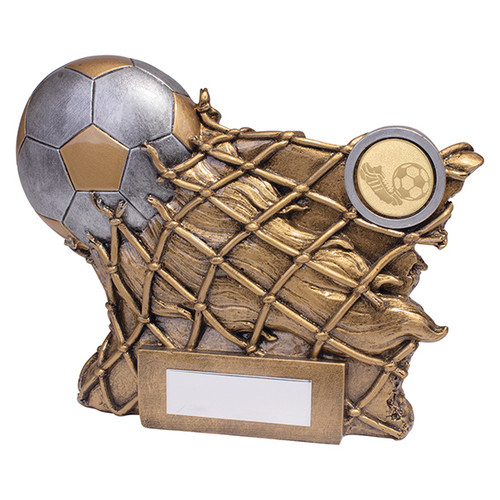 GOAL! Football Trophy in 2 sizes with FREE engraving