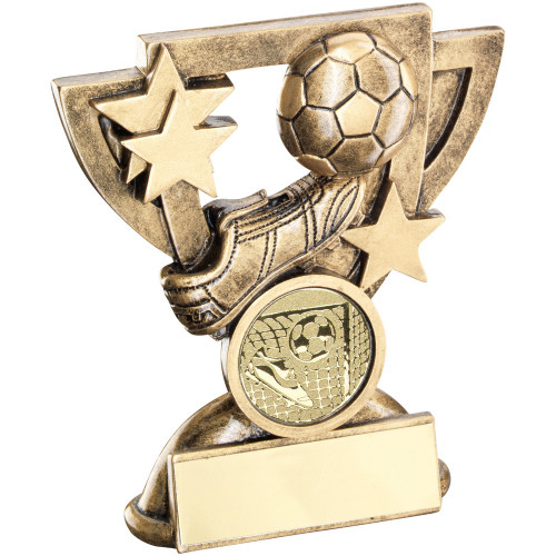 Football award in 2 sizes with FREE engraving