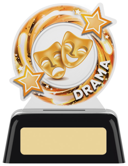 Budget acrylic Drama award with FREE engraving