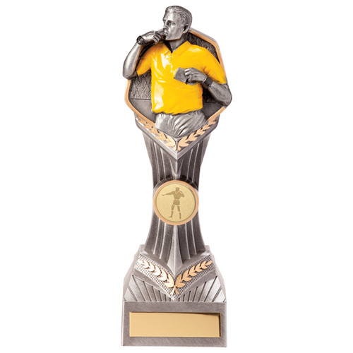 "8.75"" Falcon referee trophy with FREE engraving"