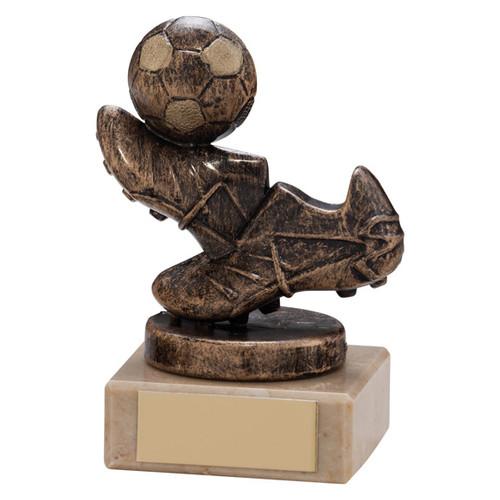 Agility bronze miniature football award