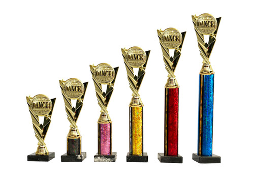 Dance planet column trophies