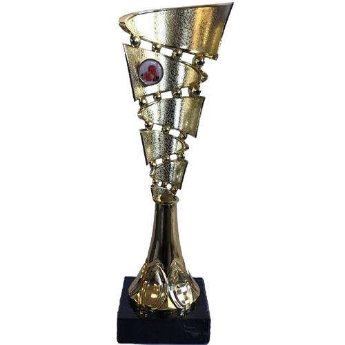Roller presentation trophy