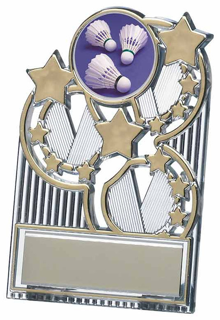 Gold Star Economy Plaque.  Suitable for any sport or activity with FREE engraving