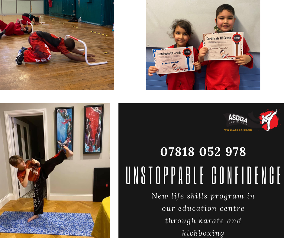 Martial Arts and the Art of building Confidence
