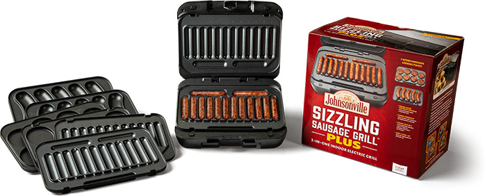 Sizzling Sausage Grill Plus