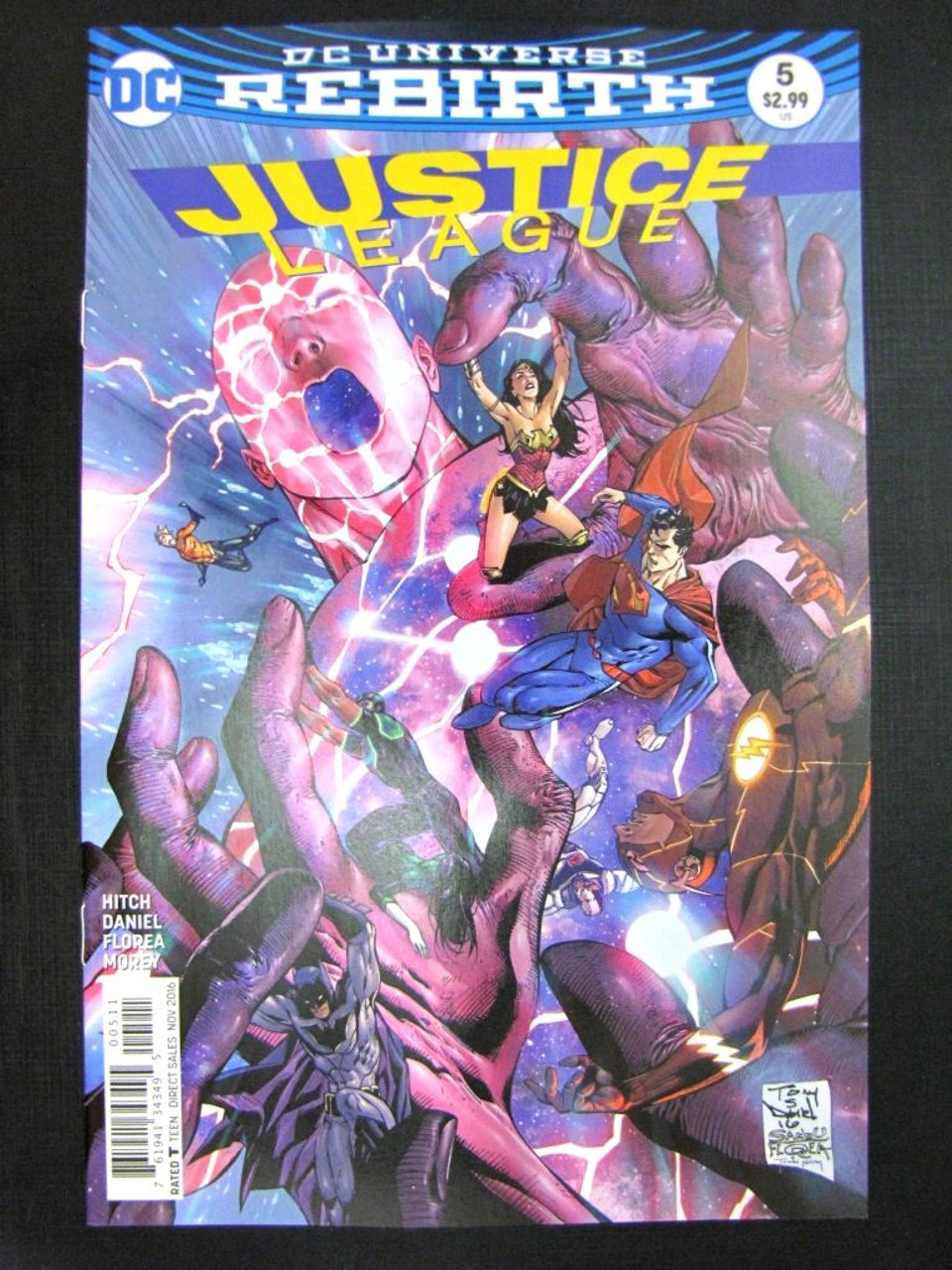 DC Comics INJUSTICE GROUND ZERO #11 JULY 2017 # 29G80