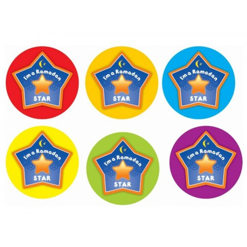 Badges - I'm a Ramadan Star - Pack of 6