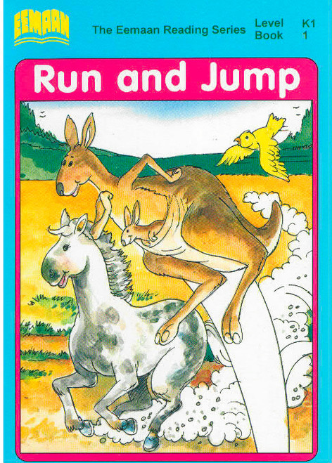 Eamaan Reading Series (Level K1, Book 1): Run And Jump