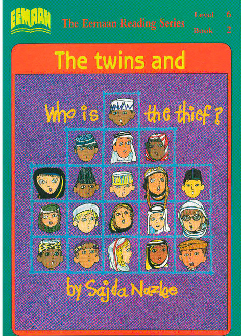 Eamaan Reading Series (Level 6, Book 2): The Twins And Who Is The Thief?