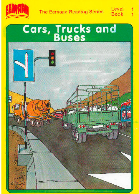 Eamaan Reading Series (Level 1, Book 1): Cars, Trucks and Buses