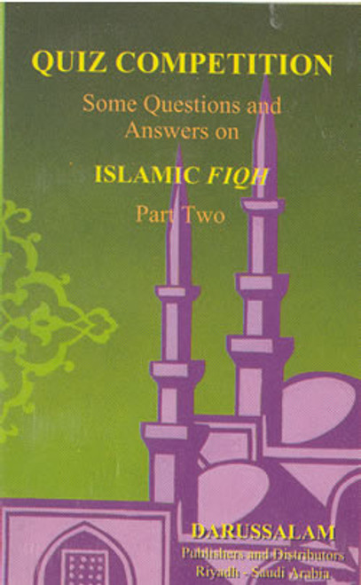 Quiz Competition: Q & A on Islamic Fiqh Part 2