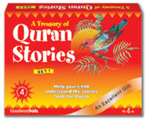 A Treasury of Quran Stories (4 Books Hardback) Box- 1