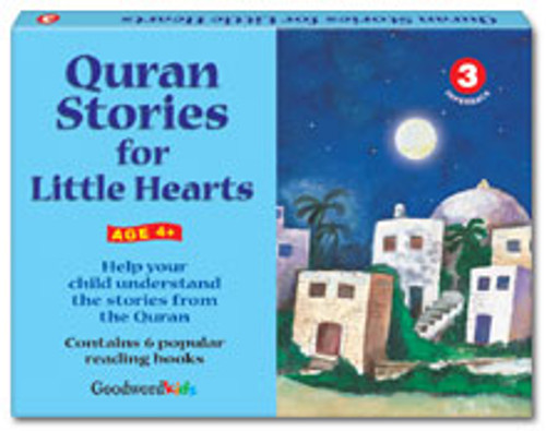 Quran Stories for Little Hearts Box 3 (6 Books)