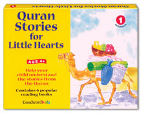 Quran Stories for Little Hearts Box 1 (6 Books)