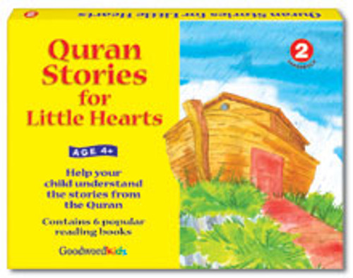 Quran Stories for Little Hearts Box 2 (6 Books)