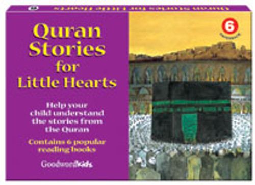 Quran Stories for Little Hearts Box 6 (6 Books)