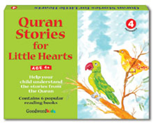 Quran Stories for Little Hearts Box 4 (6 Books)