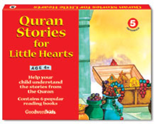 Quran Stories for Little Hearts Box 5 (6 Books)
