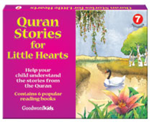 Quran Stories for Little Hearts Box 7 (6 Books)