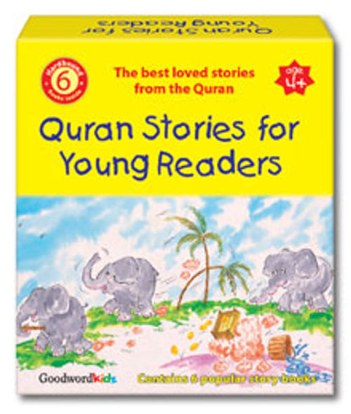 Quran Stories For Young Readers (6 Hardback Books)