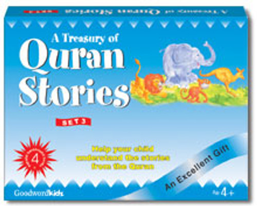 A Treasury of Quran Stories (4 Books HB) Box- 3