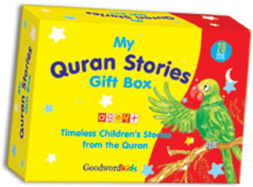 My Quran Stories Gift Box-1 (20 Quran Stories for Little Hearts PB Books)