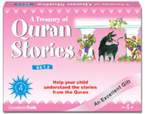 A Treasury of Quran Stories (4 Books HB) Box- 2