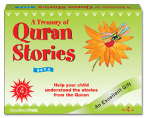 A Treasury of Quran Stories (4 Books HB) Box- 4