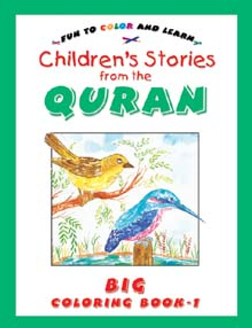 Stories from the Qur'an (Big Colouring Book-1)