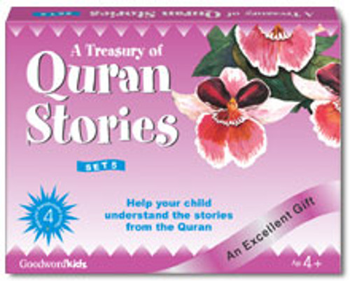 A Treasury of Quran Stories (4 Books HB) Box- 5