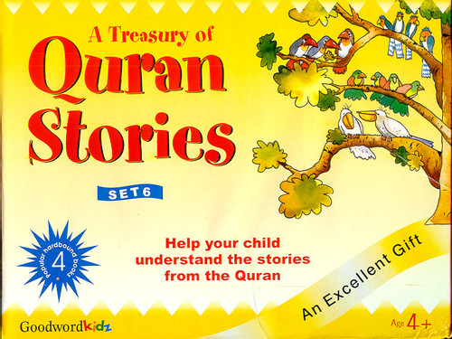 A Treasury of Quran Stories (4 Books HB) Box- 6