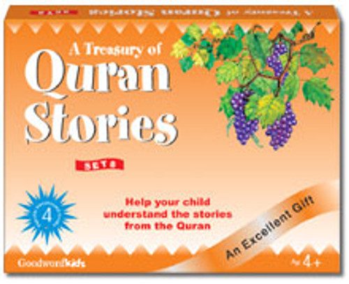 A Treasury of Quran Stories (4 Books HB) Box- 8