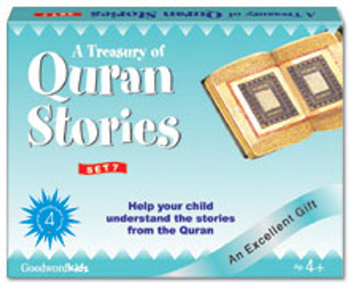 A Treasury of Quran Stories (4 Books HB) Box- 7