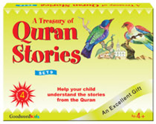 A Treasury of Quran Stories (4 Books HB) Box- 9