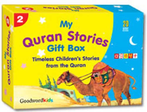 My Quran Stories Gift Box-2 (20 Quran Stories for Little Hearts PB Books)