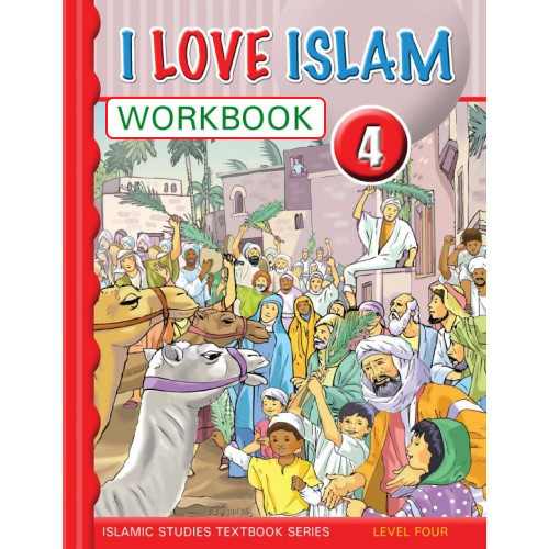 I Love Islam Level 4 Workbook