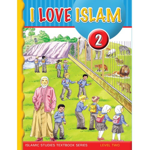 I Love Islam Level 2 Textbook (With Audio CD)